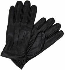 Zwarte Jack & Jones Leren Handschoenen