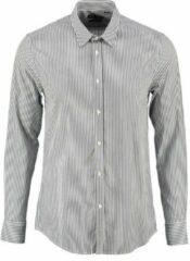 Antony morato blauw gestreept slim fit overhemd - Maat L