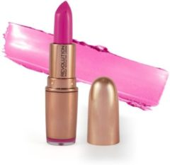 Roze Makeup Revolution Rose Gold Lipstick - Girls Best Friend