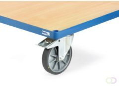 Fetra TPE wielen elektrostatisch geleidend, Meerprijs op wielen 160 mm