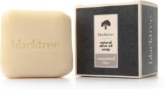 Blacktree Natural Olive Oil Soap - Unscented - 150gr (Stone Soap)