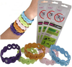 Meco Mosquito Repellent Bracelet 10 Days of Protection Pest Insect Control Wrist Band for Kids