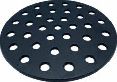 """Zwarte 4cookz® gietijzeren houtskool bodemplaat voor kamado binnenring - 21 en 23"""""""