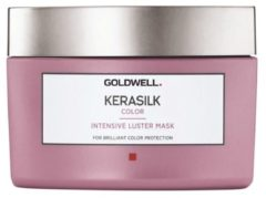 GOLDWELL KERASILK COLOR INTENSIVE LUSTER MASK MASKER GEKLEURD HAAR 200ML