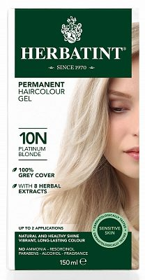 Afbeelding van Herbatint haarkleuring - 10n platinum blond