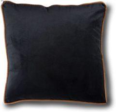 Zwarte Imoha Sierkussen Black Velvet