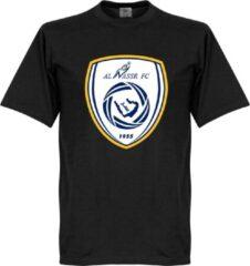Retake All Nassr Logo T-Shirt - Zwart - XXXXL