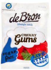 De Bron Kersen gums/cherry gums suikervrij 90 Gram