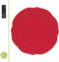 Rode Dessertbord - Baci Milano - baroque & rock Dessertbord - Baci Milano - Baroque & Rock - 22 cm