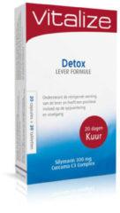 Vitalize Detox Lever Formule 20 Capsules + 20 Tabletten