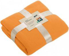 James & Nicholson Fleece deken oranje