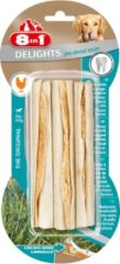 8in1 Delights Pro Dental Sticks - Hondensnacks - Kip 3x25 g 3 stuks