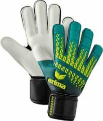 Erima Keepershandschoenen - Maat 4.5 - Unisex - Blauw - geel - zwart