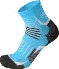Mico OXI-JET compression short socks turqoise maat S