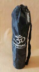 Yoga Styles Tas voor Yogamat - Zwart met Om teken - Waterbestendig