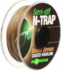 Grijze Korda N-TRAP Semi -Stiff - Gravel - 30lb - 20m