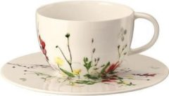 Witte ROSENTHAL - Brillance Fleurs Sauvages - Thee-/cap.-/combischotel 16cm