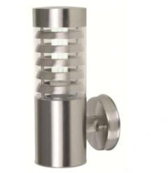 Roestvrijstalen Franssen verlichting Finmotion wandlamp RVS 304 rooster - zilver