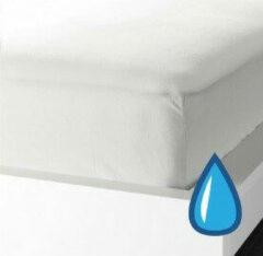 Witte Suite sheets Waterdicht Molton 180 x 200 + 30 cm hoek
