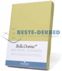 Formesse Bella Donna Hoeslaken Jersey - 90x190-100x220 - limoen