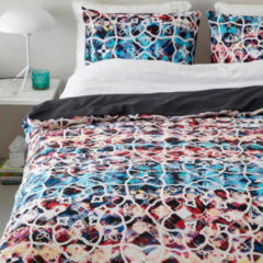 Good Morning 5725-A Mona - dekbedovertrek - lits jumeaux - 240x200/220 cm - 100% cotton - multi