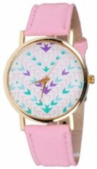 Roze Geneva Fashion horloge Aztec Pink