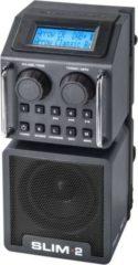 PerfectPro SLIM2 kompaktes Baustellenradio mit DAB+ und Bluetooth