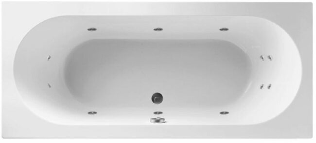 Afbeelding van Lambini Designs Round Bubbelbad 180x80cm 6+4+2 hydro jets