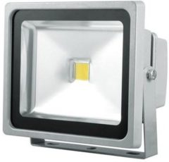 Grijze Reled Bouwlamp – 30W – 2400 lm – IP65 - Aluminium Behuizing - RELED816902