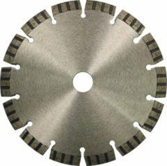 Zilveren Diamantzaagbladen Diamantschijf 150mm beton met Turbo-segmenten
