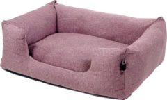 Fantail Mand Snooze Iconic Pink - Roze - Hondenmand - 80x60 cm