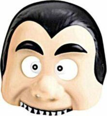 Amscan Masker Dracula Junior 18,4 Cm Blank/zwart One-size