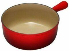 Le Creuset Caquelon Fonduepan, 18cm rood