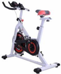 Fahrradtrainer mit Display HOMCOM weiß, schwarz