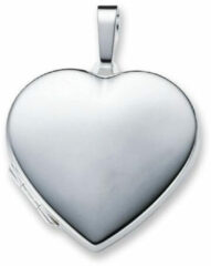 Best Basics Zilveren Medaillon 'Hart' glad 29 mm 145.0063.00