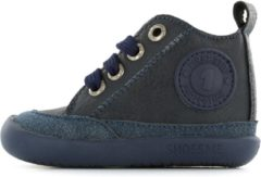 Donkerblauwe Shoesme Jongens Babyschoenen Bf8w001 - Blauw - Maat 20