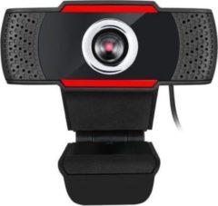 Adesso CyberTrack H3 webcam 1,3 MP 1280 x 720 Pixels USB 3.2 Gen 1 (3.1 Gen 1) Zwart, Rood