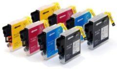 Gele Goedkoopprinten ACTIE: Epson T1295 inkt cartridges set (8st.) - Huismerk