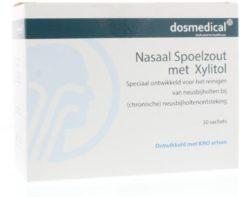 Dos Medical Nasaal spoelzout 6.5 g xylitol 30 Stuks