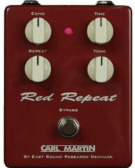 Carl Martin Red Repeat vintage echo effectpedaal