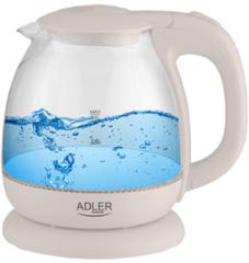 Transparante Adler Waterkoker Glas Elektrisch 1,0L - AD 1283C