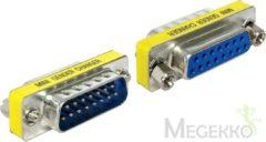 Zilveren DeLOCK 65481 VGA VGA Zilver kabeladapter/verloopstukje