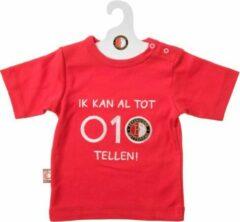 Feyenoord Baby T-Shirt KM 010 Tellen, rood