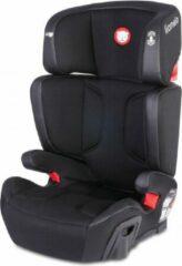 Lionelo Hugo autostoeltje - Isofix - 15-36kg - Zwart met leer accent