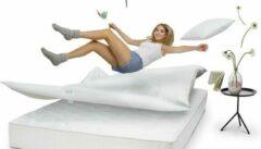 Grijze Smartsleeve Bounce Air pad matrastopper 80x200cm