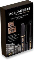 Make-up Studio Geschenkset - Mascara 4D False Lash zwart + eyeliner Zwart