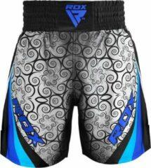RDX Sports RDX BSS Boxing Training Shorts Satin R2 - Blauw - 2XL