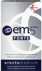 Lucovitaal Em 5 Erectomedium Forte - 6 capsules - Voedingssupplementen