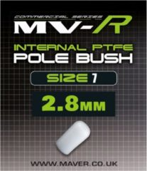 Witte Maver MV-R Internal Pole Bush - Maat 7- 2.8mm