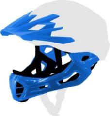 CRATONI 130106C1 Chinguard Visor Set C-Maniac Gr. S, blau, 2-teilig (1 Set)